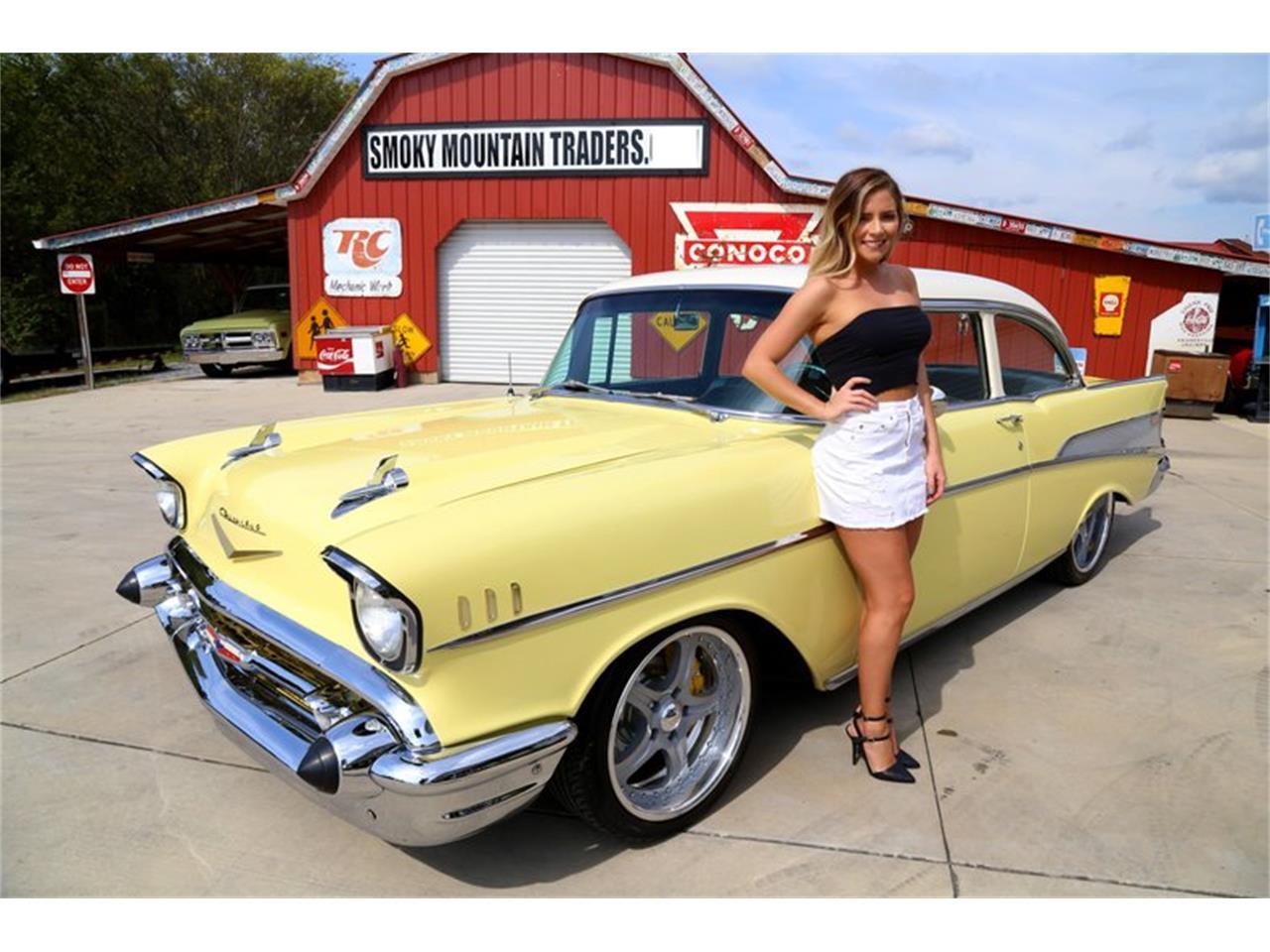 Smoky Mountain Chevrolet >> 1957 Chevrolet Bel Air For Sale Classiccars Com Cc 1153053