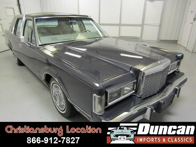1985 Lincoln Town Car (CC-1153913) for sale in Christiansburg, Virginia