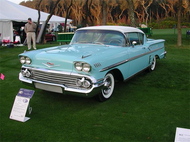 1958 Chevrolet Bel Air (CC-1155520) for sale in Jacksonville , FL