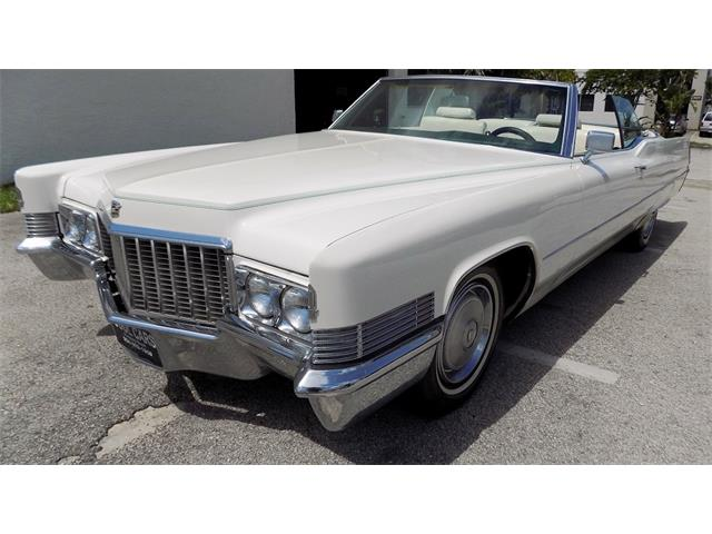 1970 Cadillac DeVille (CC-1155645) for sale in pompano beach, Florida