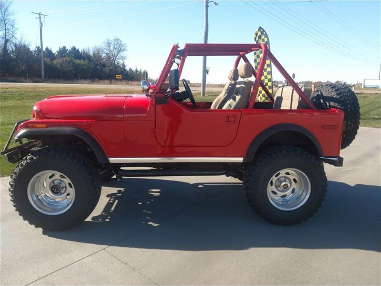 1980 Jeep CJ7 (CC-1155902) for sale in West Okoboji, Iowa