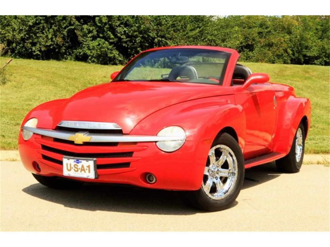 2002 Chevrolet SSR (CC-1156487) for sale in Cadillac, Michigan