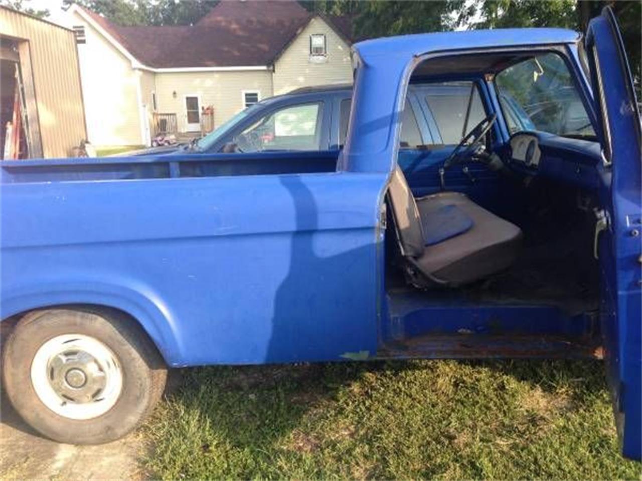 1962 Ford F100 (CC-1156601) for sale in Cadillac, Michigan