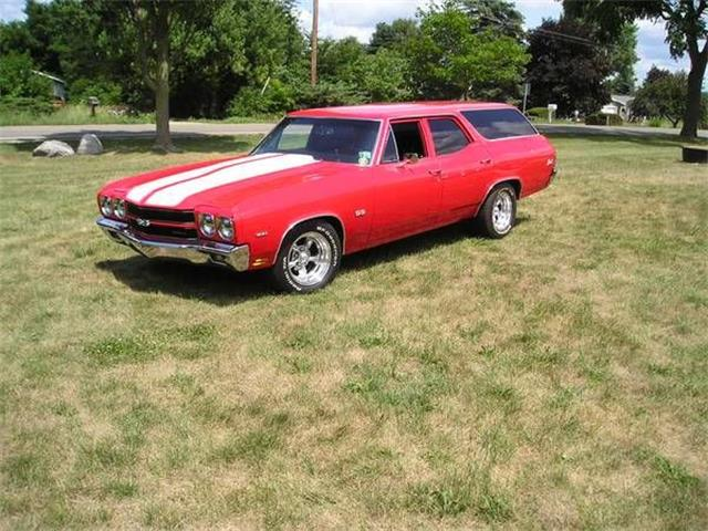 1971 Chevrolet Chevelle (CC-1156684) for sale in Cadillac, Michigan