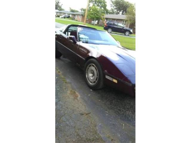 1986 Chevrolet Corvette (CC-1156828) for sale in Cadillac, Michigan