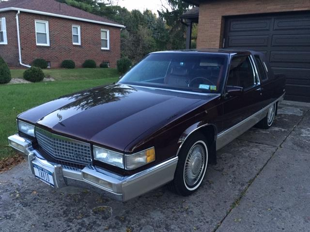 1990 Cadillac Fleetwood (CC-1157039) for sale in Syracuse, New York