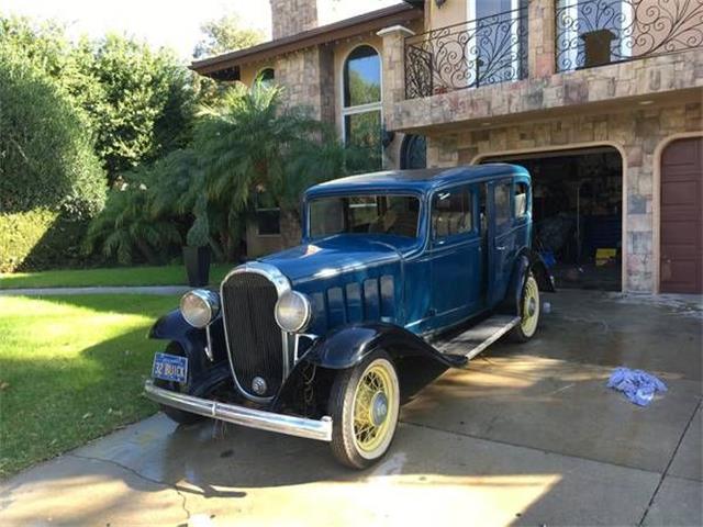 1932 Buick Sedan (CC-1157104) for sale in Cadillac, Michigan