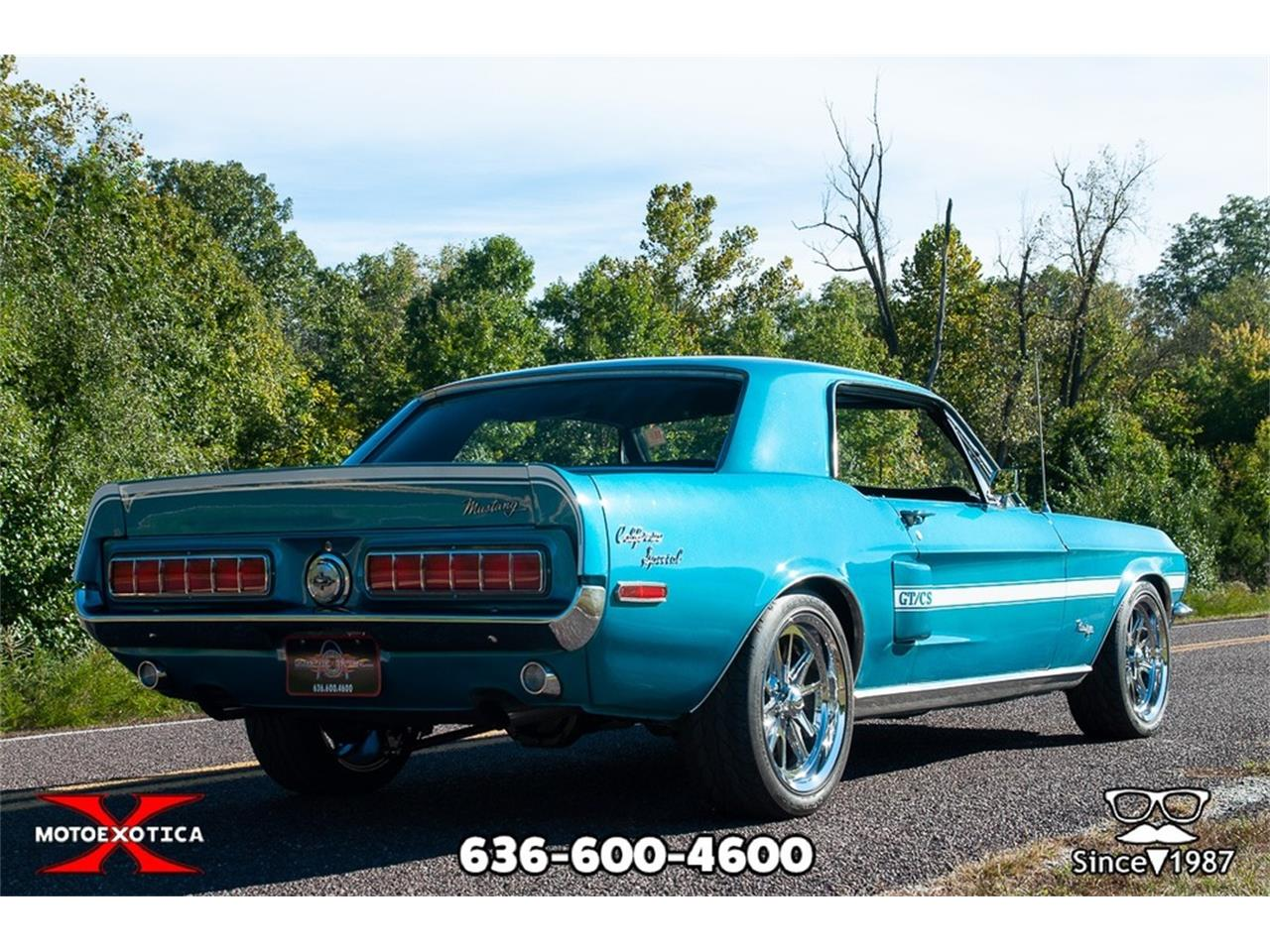 1968 Ford Mustang CA Special Clone for Sale | ClassicCars ...