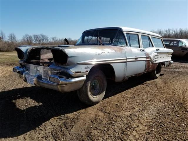 1958 Pontiac Wagon (CC-1158768) for sale in New Ulm, Minnesota