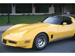 1981 Chevrolet Corvette (CC-1159107) for sale in Old Forge, Pennsylvania