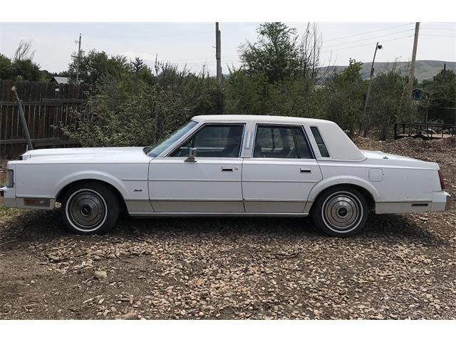 1986 Lincoln Town Car (CC-1159121) for sale in Golden, Colorado