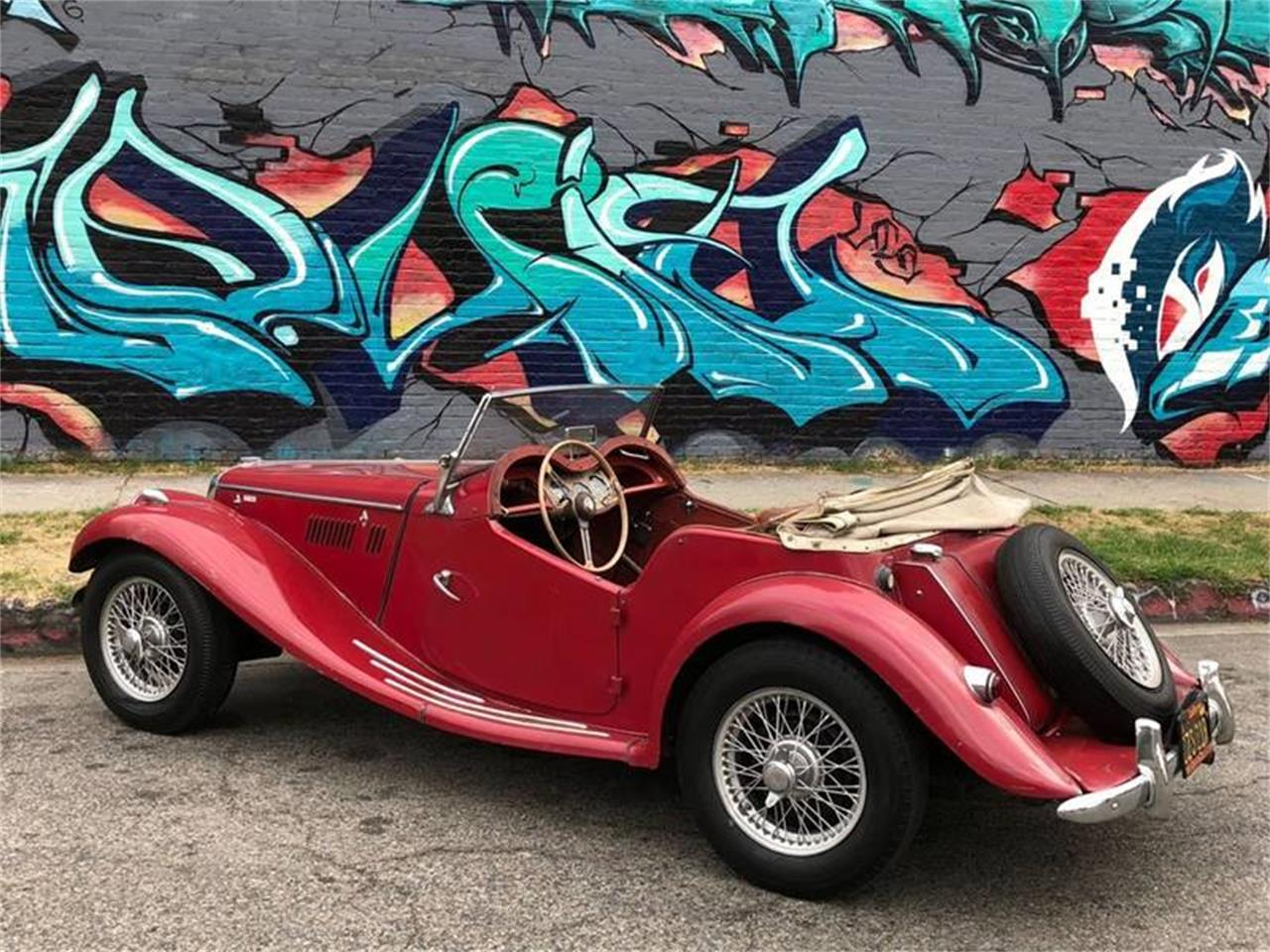 1955 MG TF (CC-1159941) for sale in Los Angeles, California