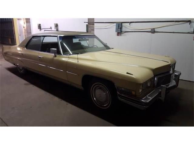 1973 Cadillac Sedan (CC-1161071) for sale in Cadillac, Michigan