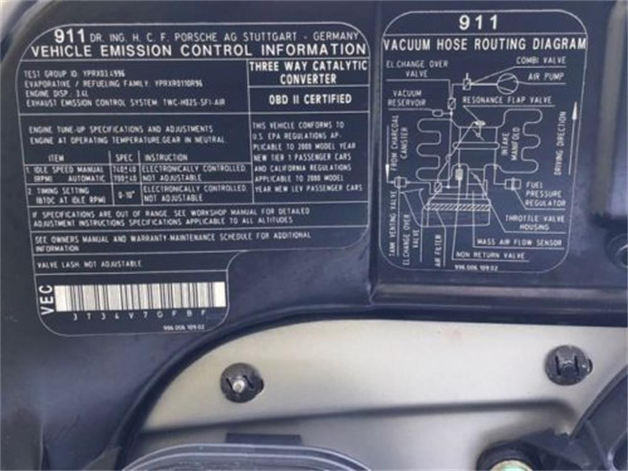 2000 Porsche 911 (CC-1161165) for sale in Cadillac, Michigan
