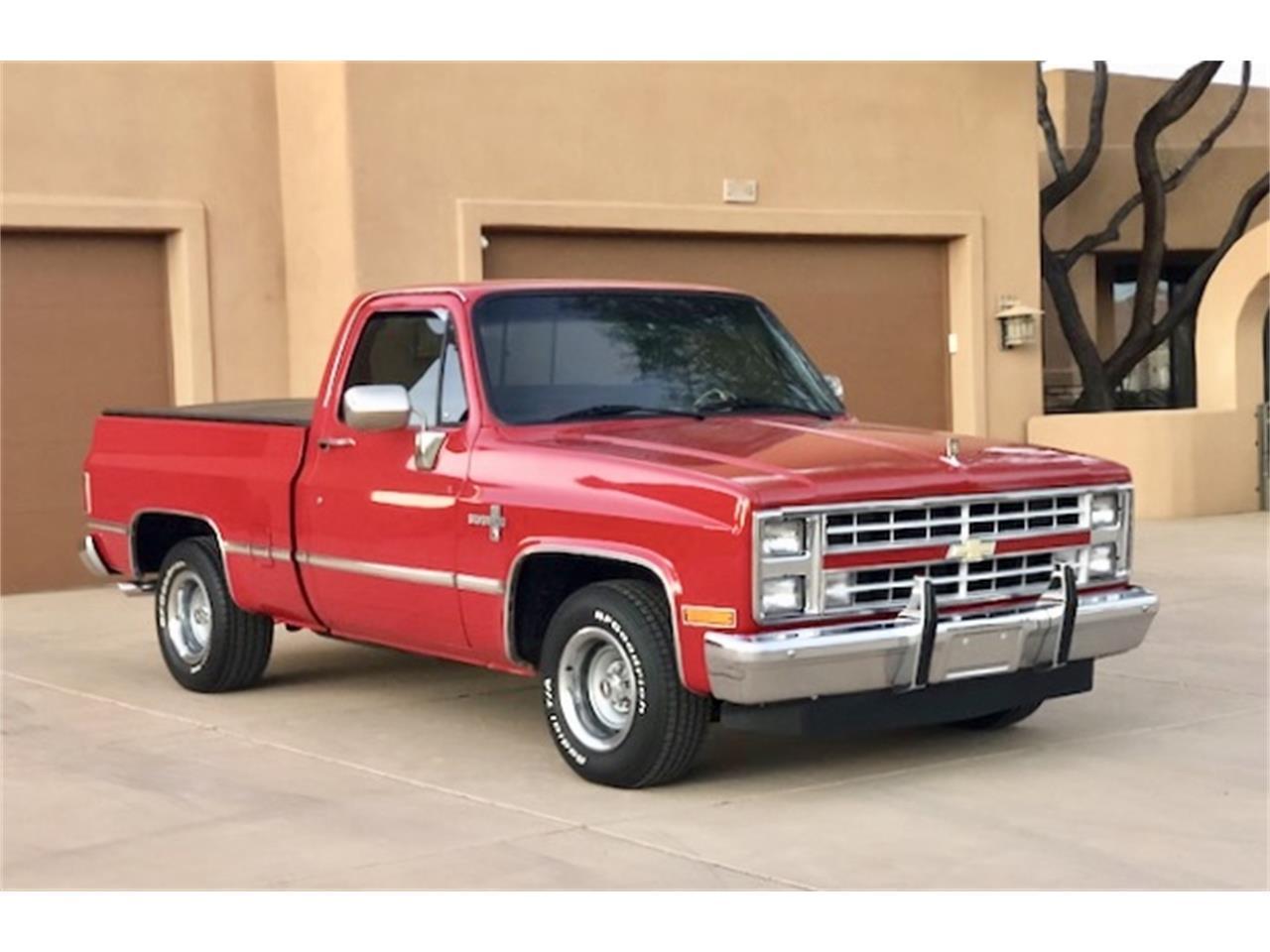 1987 Chevrolet Silverado For Sale Classiccars Com Cc 1161568