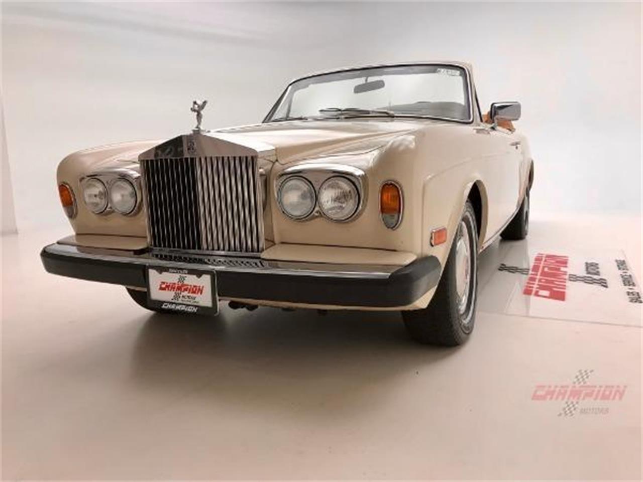 1982 Rolls-Royce Corniche (CC-1161884) for sale in Syosset, New York