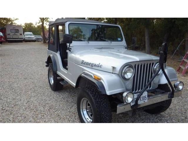1979 Jeep CJ5 (CC-1162651) for sale in Cadillac, Michigan