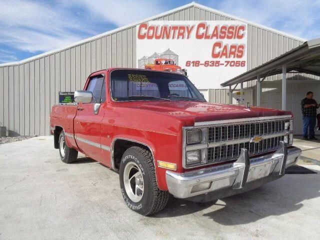 1982 Chevrolet C/K 10 (CC-1165121) for sale in Staunton, Illinois