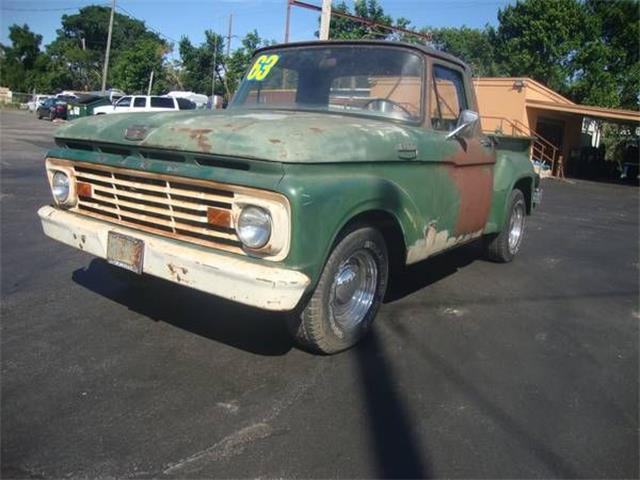 1963 Ford F100 (CC-1166465) for sale in Cadillac, Michigan