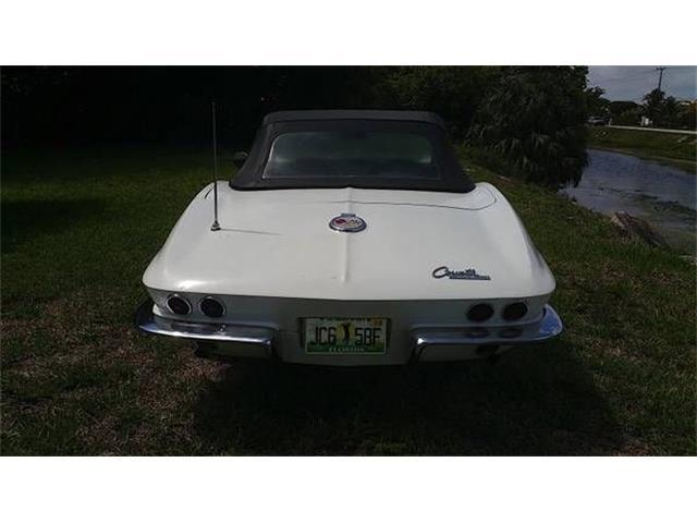 1963 Chevrolet Corvette (CC-1166470) for sale in Cadillac, Michigan