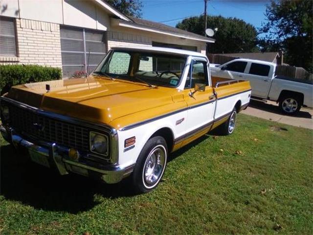 1972 Chevrolet C10 (CC-1166492) for sale in Cadillac, Michigan