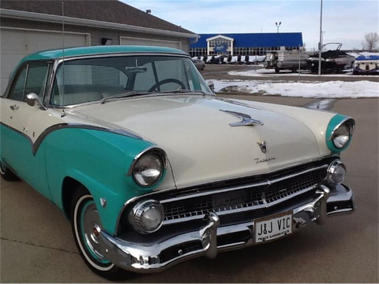 1955 Ford Victoria (CC-1166515) for sale in Cadillac, Michigan
