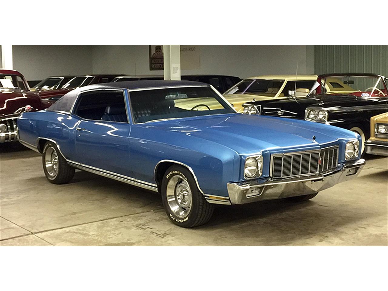 1971 Chevrolet Monte Carlo For Sale Classiccars Com Cc 1166690