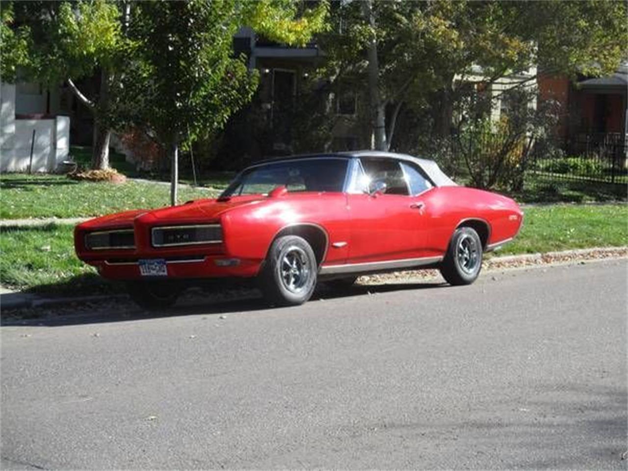 1968 Pontiac GTO (CC-1167452) for sale in Cadillac, Michigan