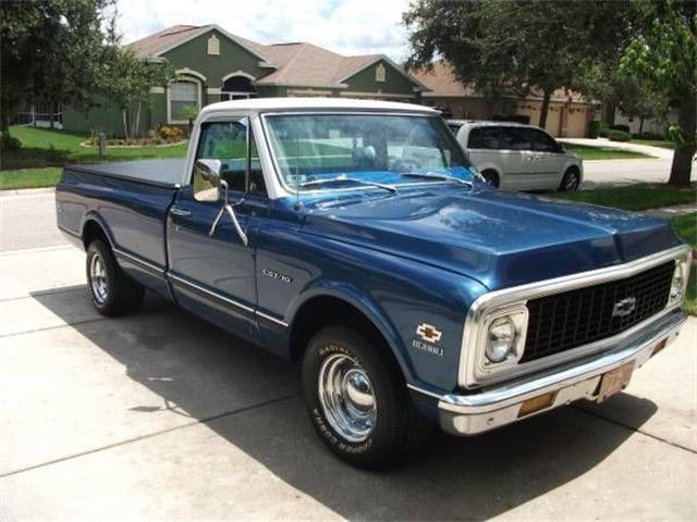 1971 Chevrolet C10 (CC-1168111) for sale in Cadillac, Michigan