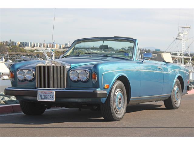 1984 Rolls-Royce Corniche (CC-1171587) for sale in san diego, California