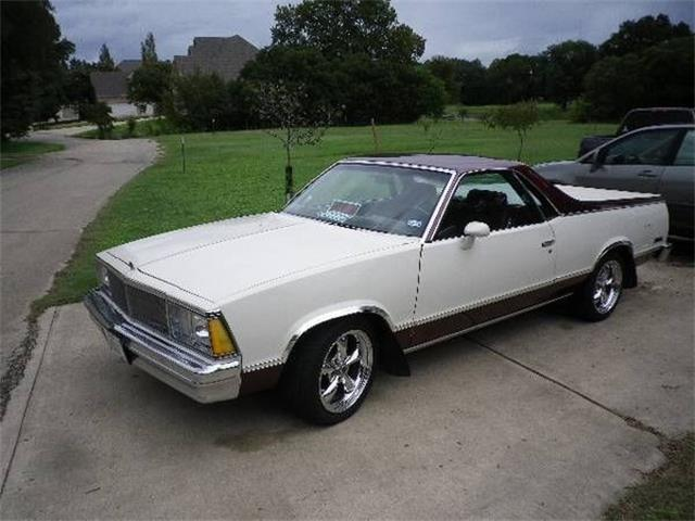 1980 Chevrolet El Camino (CC-1171888) for sale in Cadillac, Michigan