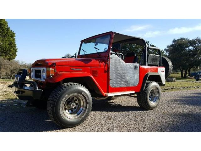 1981 Toyota Land Cruiser FJ (CC-1171904) for sale in Cadillac, Michigan