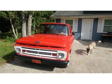 1962 Ford F100 (CC-1172604) for sale in Cadillac, Michigan