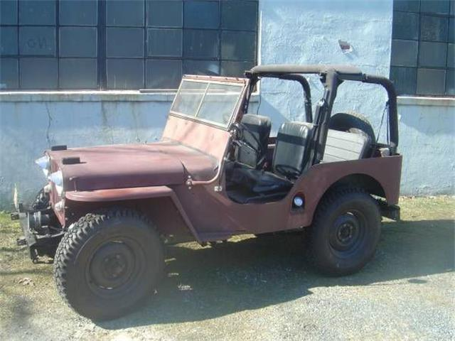 1948 Willys CJ2A (CC-1173211) for sale in Cadillac, Michigan