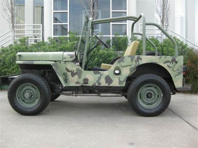 1948 Willys CJ2A (CC-1173343) for sale in Cadillac, Michigan