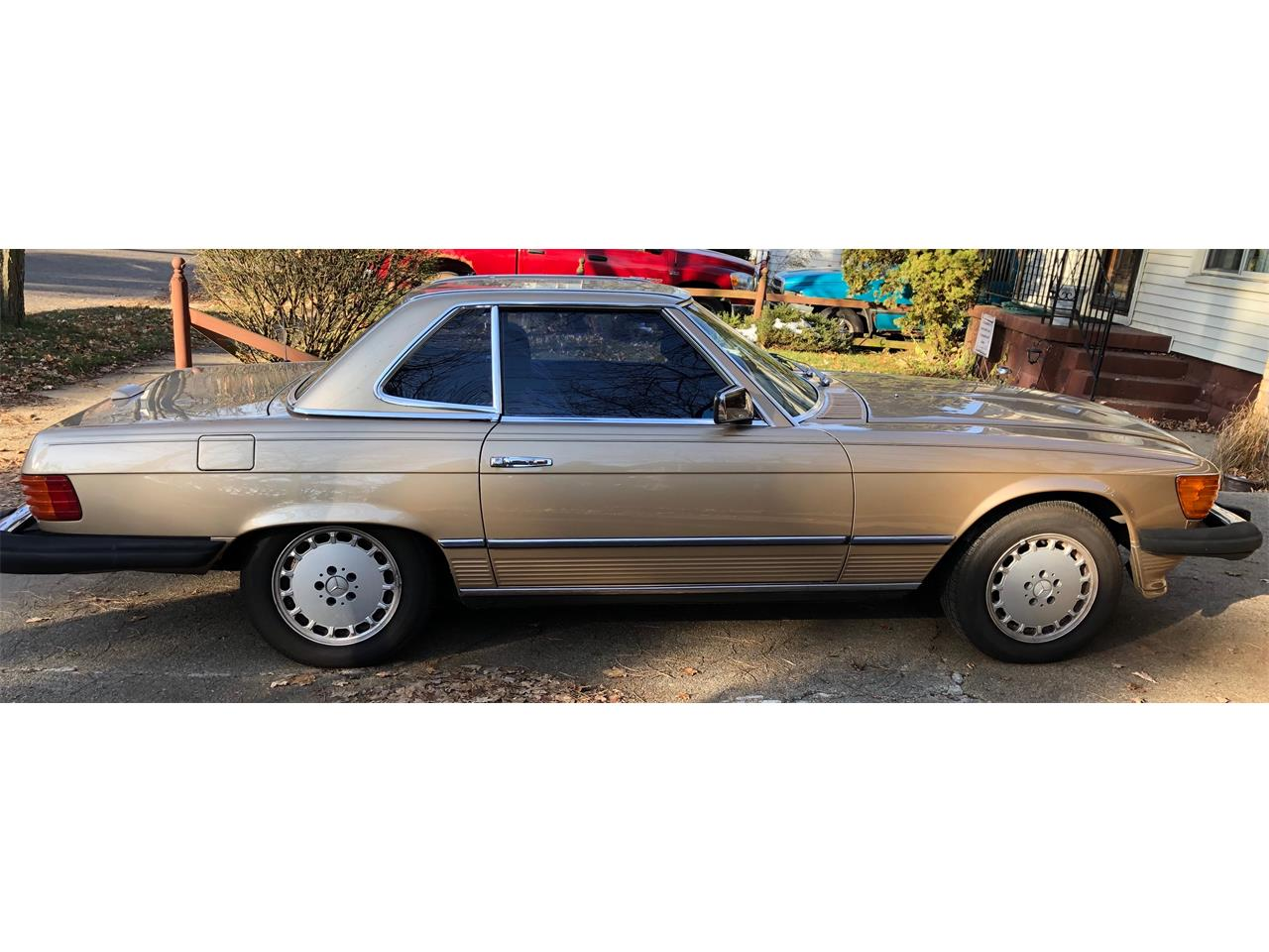 1983 Mercedes-Benz 380SL (CC-1174394) for sale in Albion, Michigan