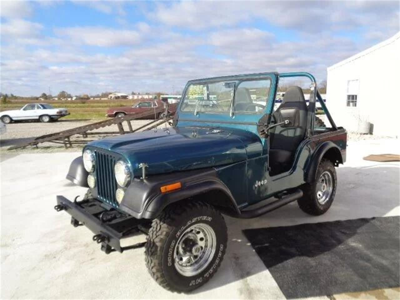 1978 Jeep CJ5 (CC-1174593) for sale in Staunton, Illinois