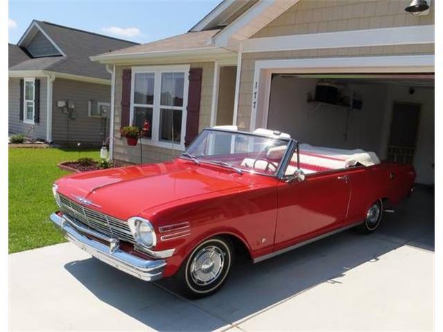 1962 Chevrolet Nova (CC-1174796) for sale in Cadillac, Michigan