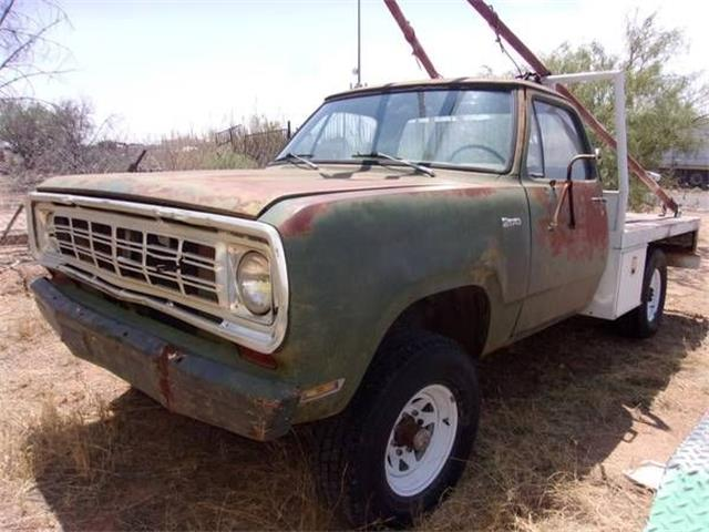 1975 Dodge Power Wagon (CC-1174816) for sale in Cadillac, Michigan