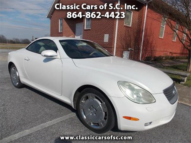 2002 Lexus SC400 (CC-1176206) for sale in Gray Court, South Carolina