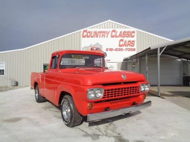 1958 Ford F100 (CC-1176209) for sale in Staunton, Illinois