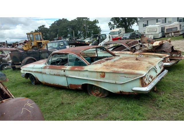 1961 Chevrolet 2-Dr Hardtop (CC-1176585) for sale in Parkers Prairie, Minnesota