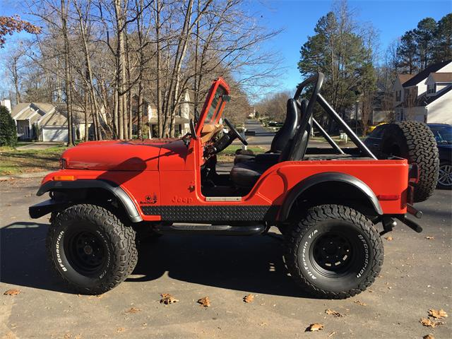 1978 Jeep CJ5 (CC-1177058) for sale in Charlotte, North Carolina