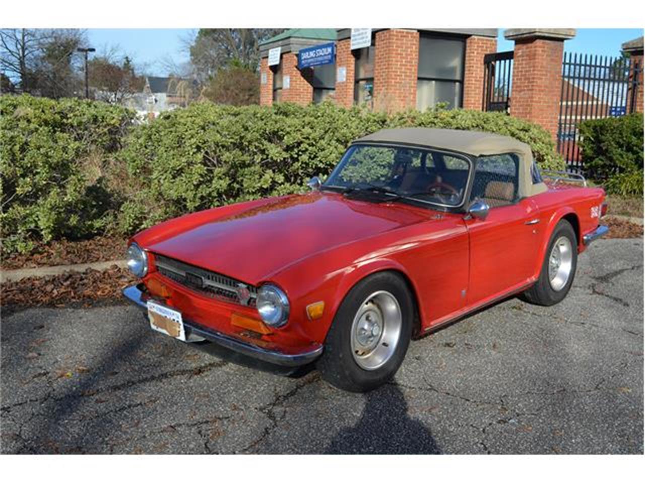 1974 Triumph TR6 (CC-1177300) for sale in Hampton, Virginia