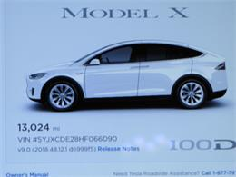 2017 Tesla Model X (CC-1177495) for sale in Hollywood, California