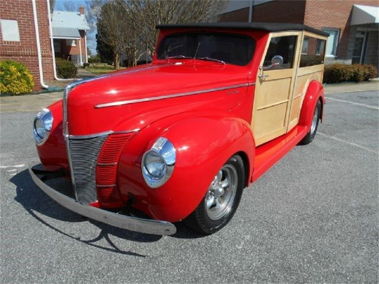 1940 Ford Woody Wagon (CC-1177856) for sale in Cadillac, Michigan