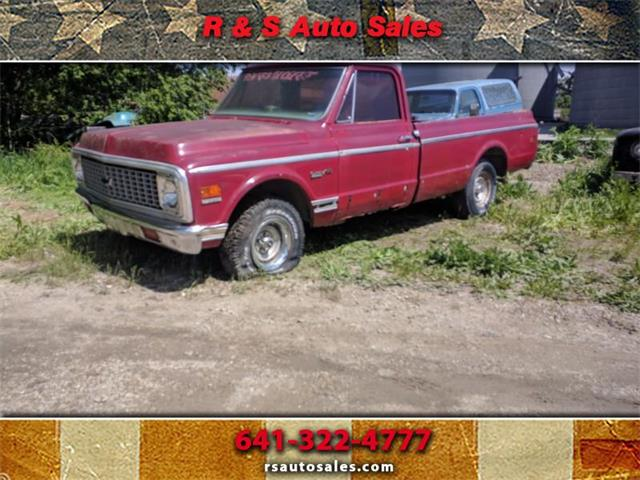 1972 Chevrolet C10 (CC-1170848) for sale in Corning, Iowa