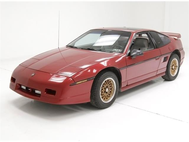 1987 Pontiac Fiero (CC-1179300) for sale in Morgantown, Pennsylvania