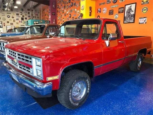 1987 Chevrolet K-10 (CC-1179604) for sale in Cadillac, Michigan