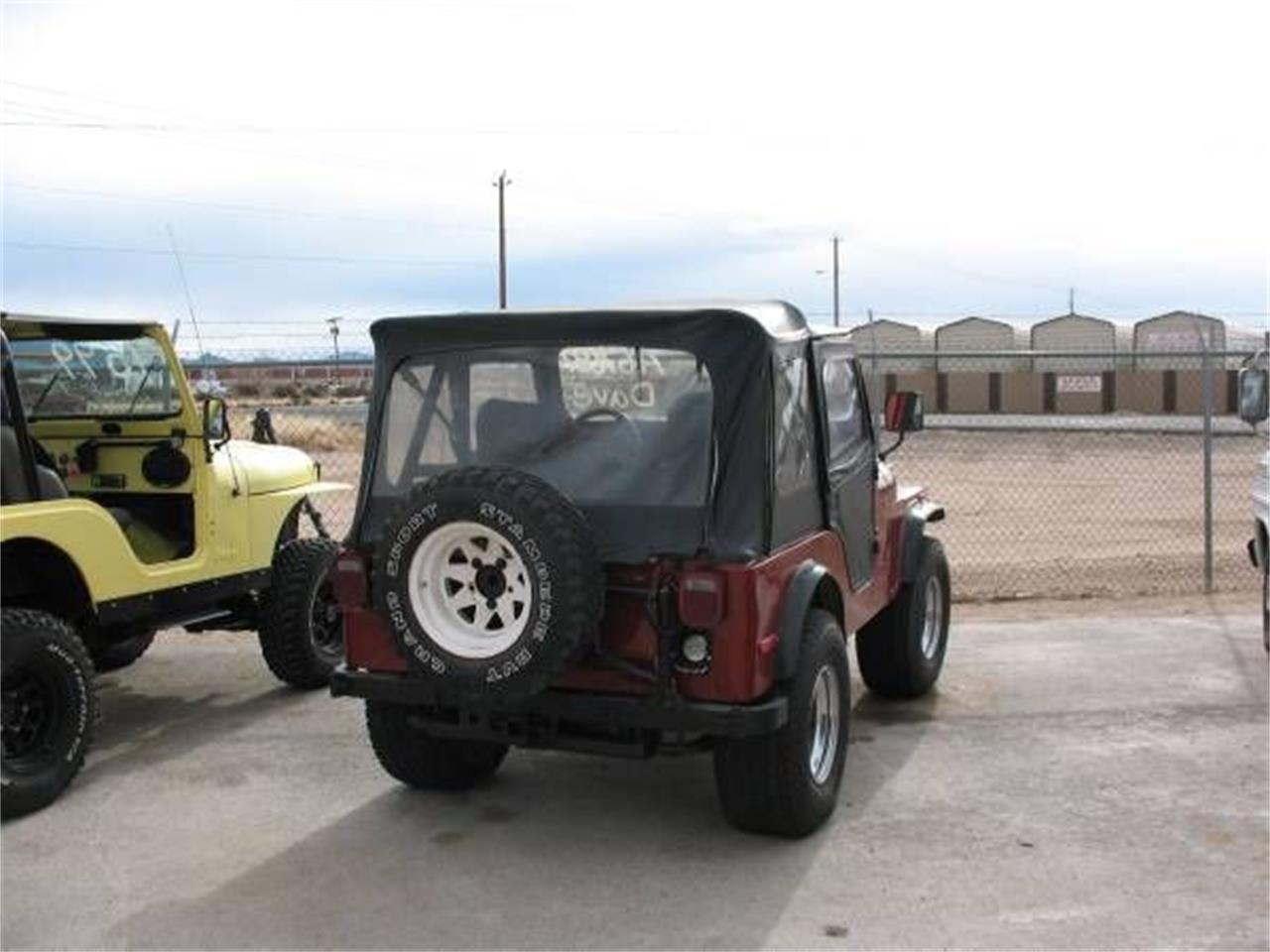 1978 Jeep CJ5 (CC-1179651) for sale in Cadillac, Michigan